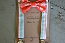 Baby Boy Shower Ideas! / Bow-ties and Suspenders Theme :)
