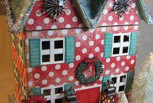 Putz & Glitter Houses