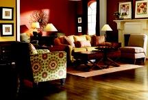 Fall design trends / Living room & Family room decor for Fall