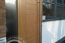 Solidor Palermo Timber Composite Door / Selection of images featuring the Solidor Palermo Timber Composite Door installed by ourselves part of the Italia Collection
