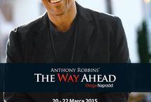 Anthony Robbins / Tonny Robbins jest olbrzymem.  TONNY ROBBINS, KTÓRY CZASAMI POTRAFI JEDNYM ZDANIEM DOKONAĆ WIELKIEJ ZMIANY W WIELU OBSZARACH ŻYCIA. Jestem partnerem Łukasza Milewskiego w tych wydarzeniach, ponieważ są to eventy na skalę światową. Kliknij w mój link http://bit.ly/Z6CwgE i zapisz się na wprowadzające wydarzenie które odbędzie się już w niedziele.