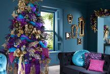 idee per natale / effetti decorativi natalizi