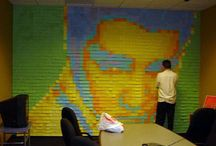 Post-It Art