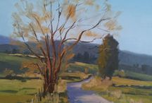 Great New Zealand Landscape paintings / Here is a selection of landscape paintings from beautiful New Zealand
