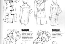 how to draw clothes/ folds