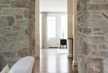 House Project / Stone wall ideas