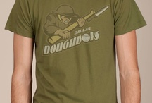 Dallas Doughboys Cool T-shirt / Before there were G.I.'s, they were known as Doughboys. We salute those who proudly fought for our freedoms with this awesome sports logo.
