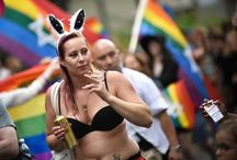 LGBT Pride in Stockholm Sweeden 2016
