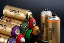 MONTANA SPRAY PAINT CANS/PENS..