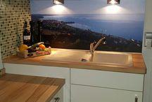 Küche Rückwand Digitaldruck