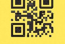 QR-Codes // Werbeelement / Diese Beispielwerbungen zeigen, wie mit QR-Codes in der Werbung gearbeitet wird.