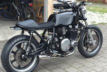 Kawasaki z1000st / brat style caferacer
