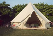 tents and picnics / by Meghan Curci Palmer