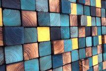 Muralla de madera