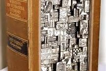 Book Art Collision / Just for the pure appreciation of of what some people have thought to do with books