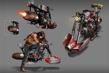 Concept Art Vehicles