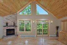 pine ceilings