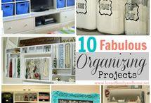 Home: Organizing / by Clarisa Estrada