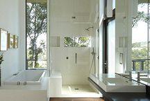 Master bathroom / by Di Wheaton