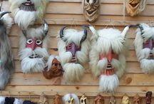 Mask's we wear! / Masks of the world!