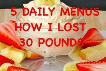 5daily menus to loose 30 lbs
