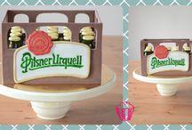 Cake beer Pilsner urquell