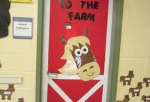 Farm themed classroom