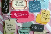 [RE-USE] / Ideas for Cards, Tags & recycled holiday decorations