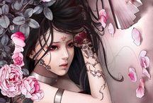 Xiao Bai art illustrazioni