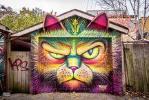 Street ART - Peintures Murales
