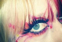 my hair, make-up and jewellery / What I do when I'm my own canvas  / by Bianca Le Cornu