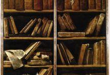Много книжечек! / Книжные шкафы и библиотеки, а так же что-то на них похожее и сами книги, конечно.