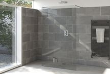 Shower Trends and Technology / The Armano Series is a unique system which allows you to create a wide range of walk -in shower enclosures in a huge range of sizes.