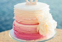 cake design : ruffle cake anc co
