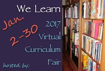 2017 Virtual Curriculum Fair / The VCF is an annual event for homeschool bloggers to share their wisdom and experience on home education. You will learn about various methods, homeschool philosophies, helpful resources, scheduling, preferred curricula, and much more. Their stories will inspire and inform.