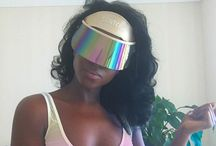 #VisorGang / Are you a part of the SAINT CHIC #VisorGang? Post your pics wearing our Paparazzi Visor™.   Represent and give your tips and feedback on how you rock it!!