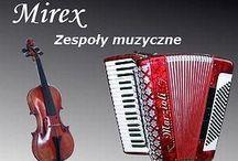 BAZA ZESPOŁÓW MUZYCZNYCH MIREX / Profesjonalne zespoły muzyczne na wszelkie imprezy okolicznościowe.