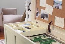 office / craft room / by Holly Hodgkins