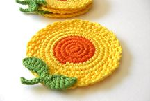 Coaster, potholder, glassholder