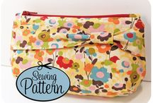 Clutch Bags and Wristlets / Wristlets, clutches, mini-bags, and more to sew from indie designers. / by PatternPile.com