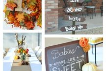 Fall Baby Shower Theme / Ideas for a fall themed baby shower