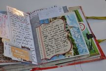 Junk Journals & Smash Books / Aren't these amazing! I just love the looks of them, my problem is...what in the world do you do with them? I am not busy enough to use as a planner, I don't have anything to journal about..but..I still love them and want one...so I will work on making one!