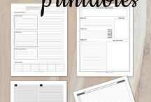 PLANNERS / All about planning systems. Printables, ideas, DIY, tips, tools, inspiration, organization tips, productivity tips, weekly, daily, monthly... All planner related and maybe a bit of stationary.