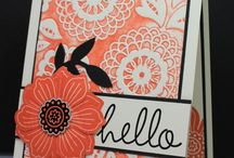 Bloom for you & Beautiful Bunch Cards. / by Rita Day