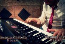 音楽(ピアノ&ドラム)
