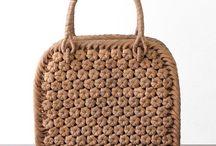 сумки крючком, спицами / сумки идеи
