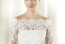 Boléro robe de mariée