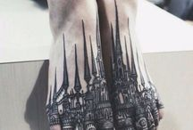Feet Tattoos