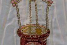 Bordados de la Cama de María del Cadafal del #MisteridElx