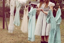 clothesline in the breeze / by April Rivers
